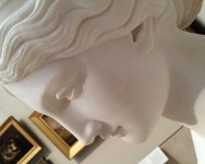 Daphne at the Met, Harriet Goodhue Hosmer - devoted sculpter