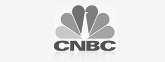 CNBC logo, Drew has appeared on CNBC
