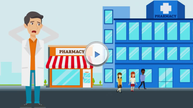 """Captain Remedy"" <br />Animated Explainer Video, Industrial Pharmacy and Medical Supply"